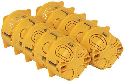 Legrand LEG200186 10 Boîtes d'encastrement poste batibox plaque de plâtre Profondeur 40 mm: Price:13.5410 btes cloison seche ref.90541.…