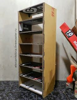 Ötletes Blog: Készítsünk kartondobozból bútort