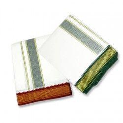 Dhoti with shawl – Design IV