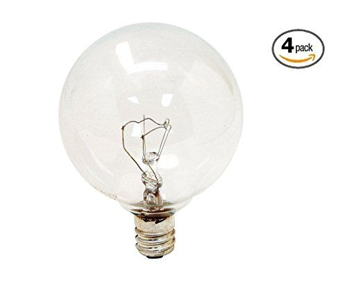 watt 25 watt Bulb (4-Pack) Replacement for Scentsy Full Size Warmer, KE-25WLTE Price: $15 #Candles #CandleHolders #HomeDecor