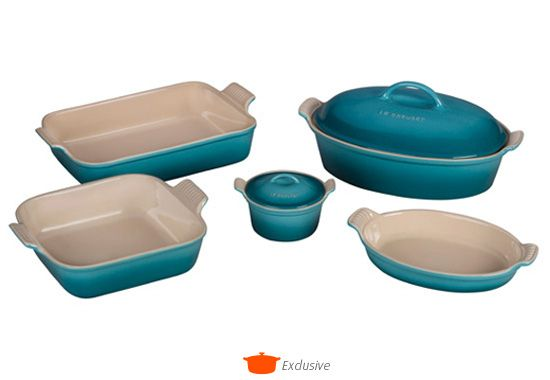 Image for Heritage Bakeware Set - Was $285 from Le Creuset
