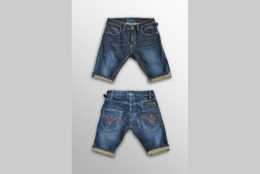Creux cycling jean shorts