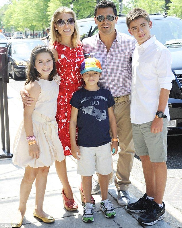 Family: The couple have three children together, Lola, Joaquin and Michael
