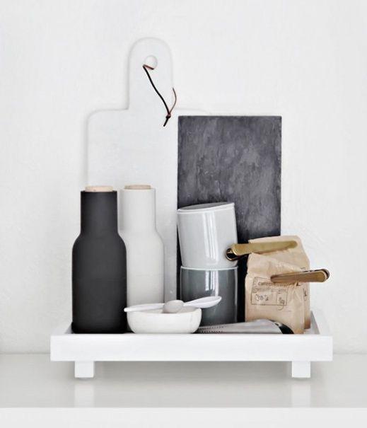 Dodatki do kuchni – zestaw młynków #TwojeMeble #Dodatki #Młynek #BOTTLE-GRINDER #Menu