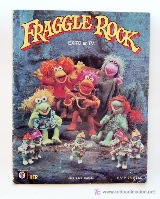 Album cromos Fraggle Rock (Los Fraguel)