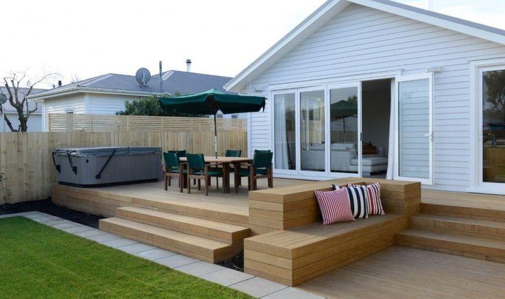 Roosevelt Ave Home - Elements Sand+ Decking