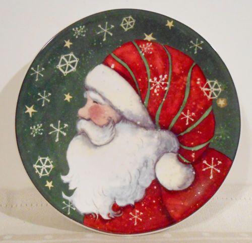 susan winget christmas plates | eBay