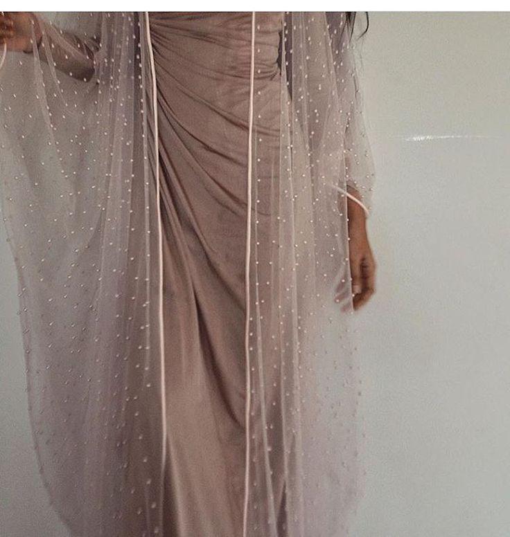 Arab Swag | Nuriyah O. Martinez | IG: BarelyBlush | Pearls abaya