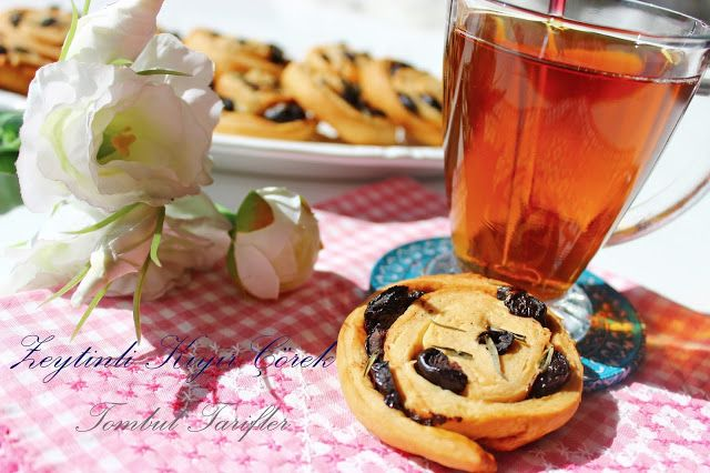 Tombul Tarifler, pratik yemek, yöresel tat, kek, kurabiye, börek, çorba, hamurişi ve diğerleri...: Zeytinli Çörek