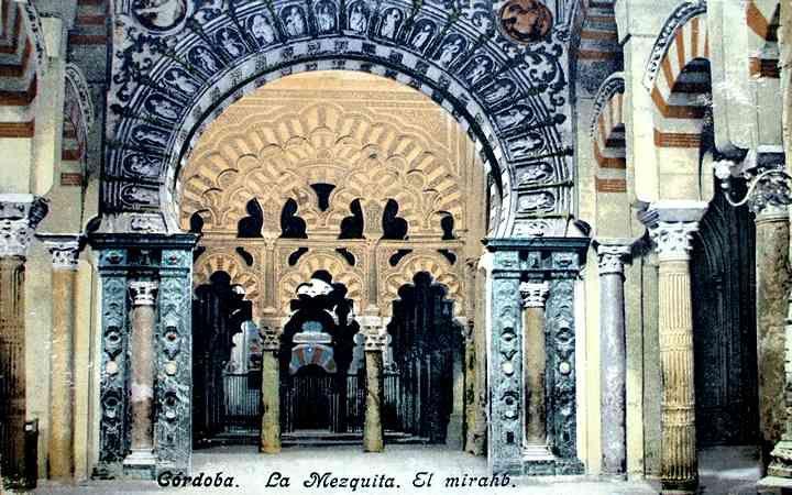 el mirhab Córdoba