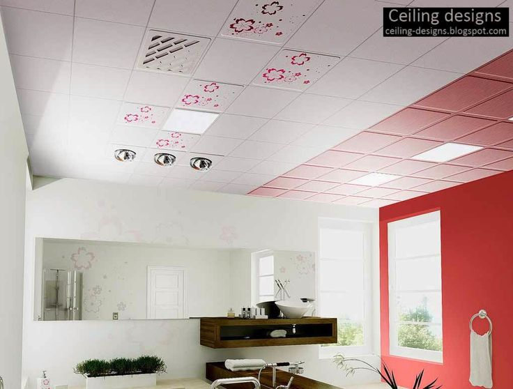 Bathroom Ceiling Ideas, Designs, Types, Decorative Bathroom Tiles