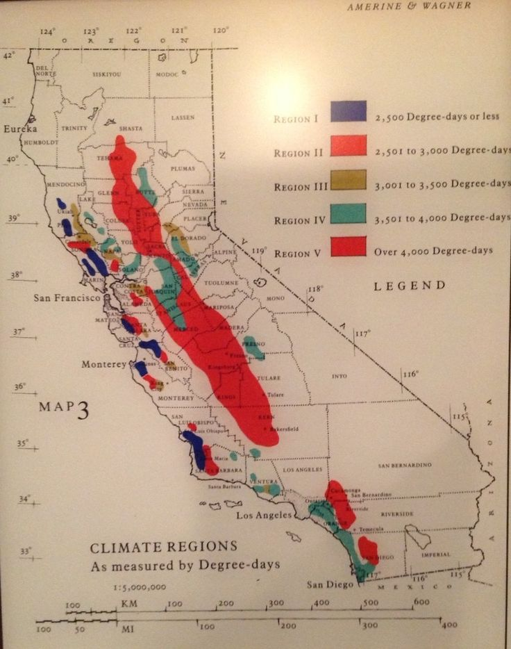Best CARA NORD Wine Maps Images On Pinterest Wine Cheese - Us map winkler climate regions