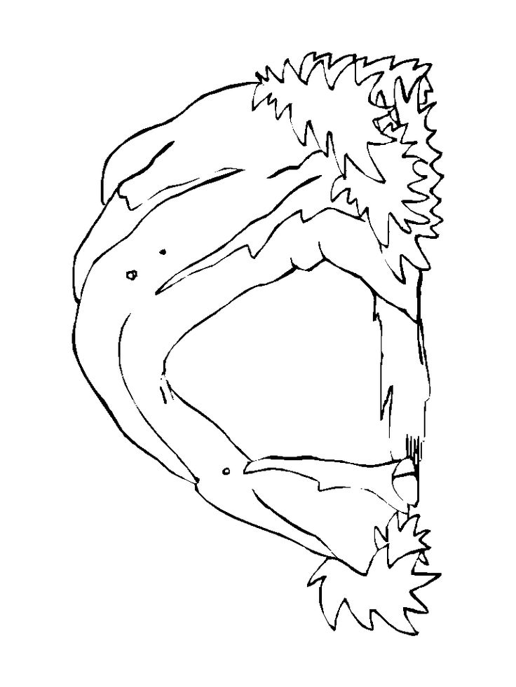 cave man cave coloring pages   cave templates   Science   Coloring pages, Printable ...