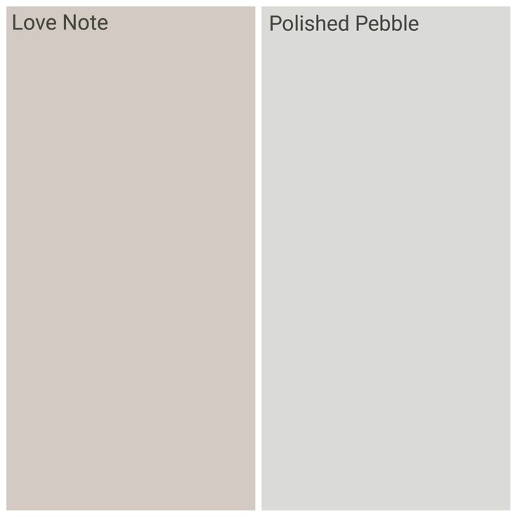 Dulux love note and polished pebble, hallways and stairs!