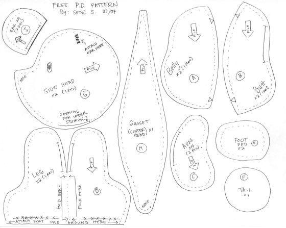 Best 25+ Teddy bear sewing pattern ideas on Pinterest