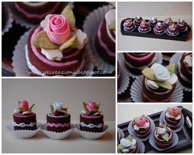 Felt Cakes, Yummy!