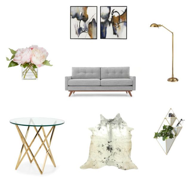 """""""Living room"""" by leigh-ann-griffiths on Polyvore featuring interior, interiors, interior design, home, home decor, interior decorating, Thrive, Hudson, Umbra and living room"""