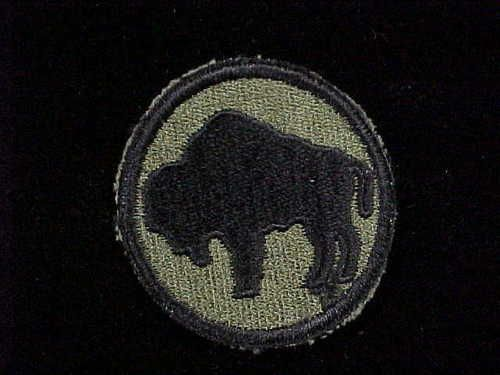 WWI US Army 92nd Infantry Division Shoulder Patch Buffalo Soldiers LQQK | eBay