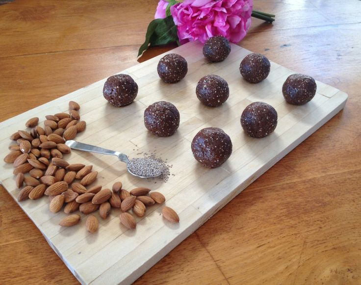 Walnut-Chia Bliss Balls