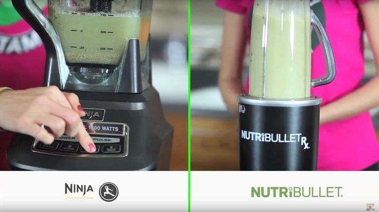The Blades on the Nutribullet Blender and Ninja Blenders twist off and you are able to clean them separately from the blender containers which makes it easier to reach inside the containers and scoop out the left over smoothie recipe. The Nutribullet blades and Ninja Blender blades are sharp so be careful when using a sponge and reaching around the blades.