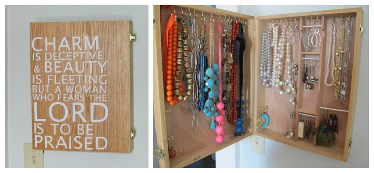 Oooooo- I like this! DIY custom jewelry box