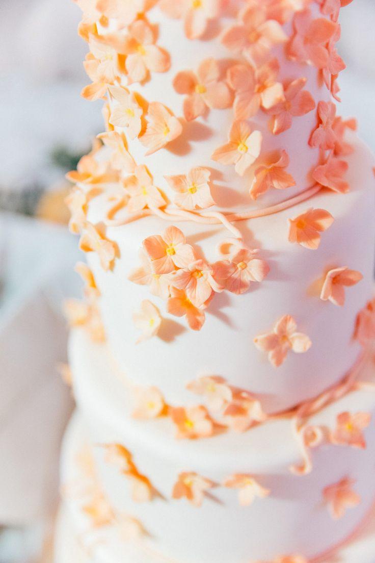 """Über 1.000 Ideen zu """"Pfirsich Hochzeitstorten auf Pinterest ..."""