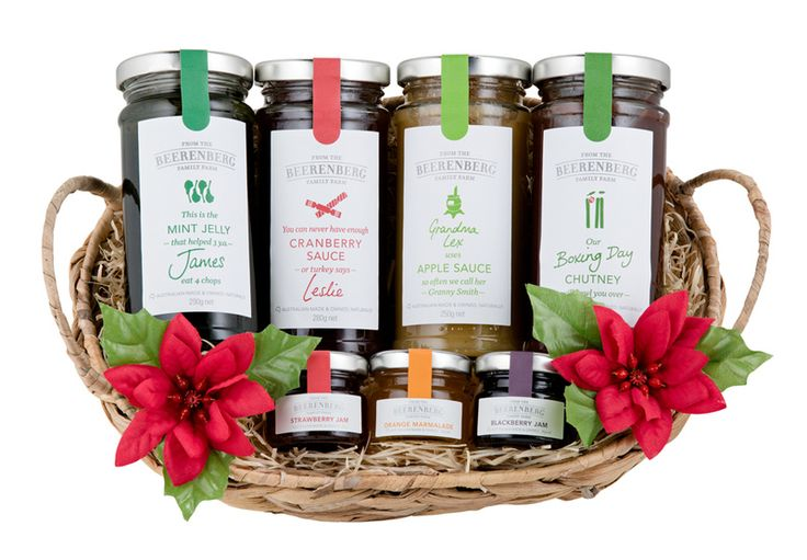 The Beerenberg Foodies Christmas Gift Basket has all you need for whatever you serve on Christmas day. Or, perhaps, pass on as a gift for an unexpected guest. Either, or. #Beerenberg #GiftBasket #GiftIdeas #Christmas