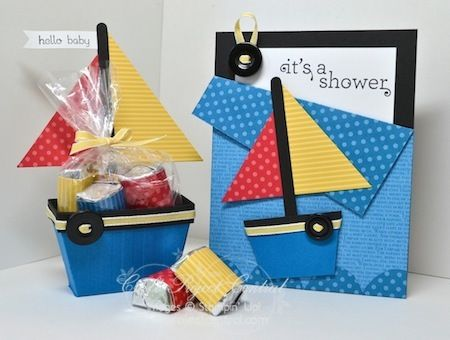CPC Sailboat and card by jentimko - Cards and Paper Crafts at Splitcoaststampers