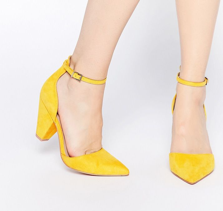 Best 25  Yellow heels ideas on Pinterest | Yellow shoes, Yellow ...