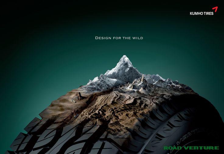 Kumho Tires: Design for the wild