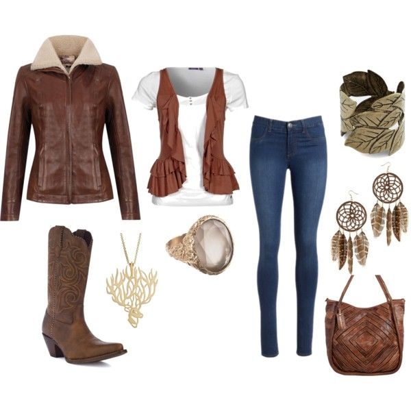"""""""Leather for the Fall"""" by bowhuntress on Polyvore: Style, Fall, Bowhuntress, Polyvore, Leather"""