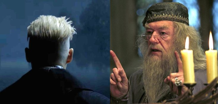 Is this picture Johnny Depp playing Dumbledore's lover Grindelwald in Fantastic Beasts?