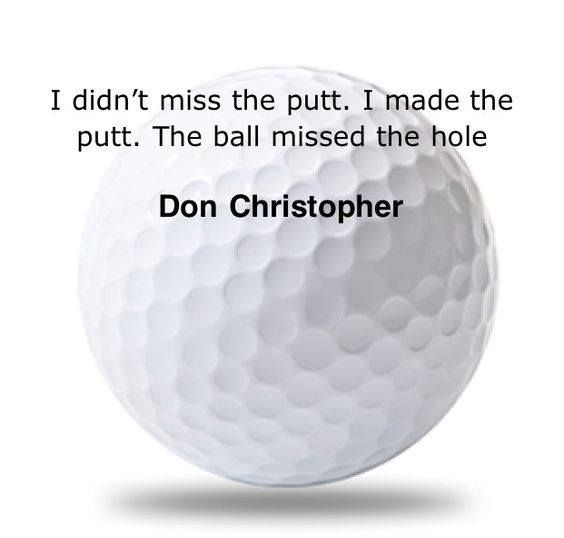 LOL, I'm stealing this quote and gonna be saying it a lot! I Rock Bottom Golf #rockbottomgolf