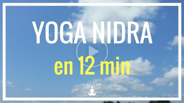 YOGA NIDRA en 12 minutes - Relaxation très Profonde - Méditation guidée en français  Cédric Michel - YouTube
