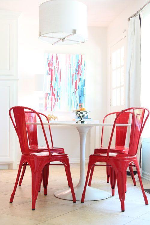 17 migliori idee su sedie in metallo vintage su pinterest for Sedie di metallo