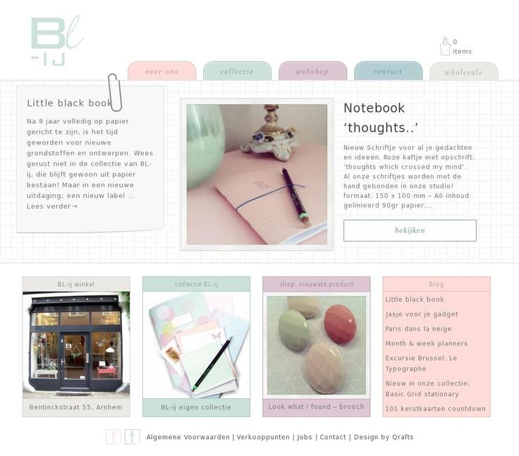Studio BL-ij ontwerpt papieren cadeautjes waar je blij van wordt! www.bl-ij.nl #webshop