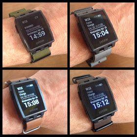 The Pebble Blog: Pebble Steel strap adaptors