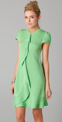 Love this mint colored dress! Red Valentino