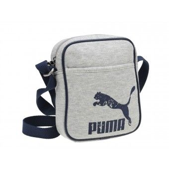 Geanta Puma Originals Jersey Shopper gray-navy