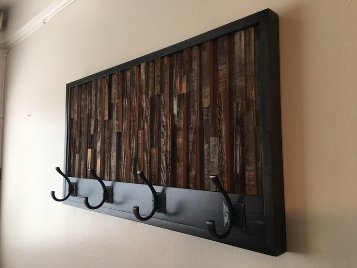 A personal favorite from my Etsy shop https://www.etsy.com/listing/506998451/coat-rack-wood-wall-art-coat-hooks