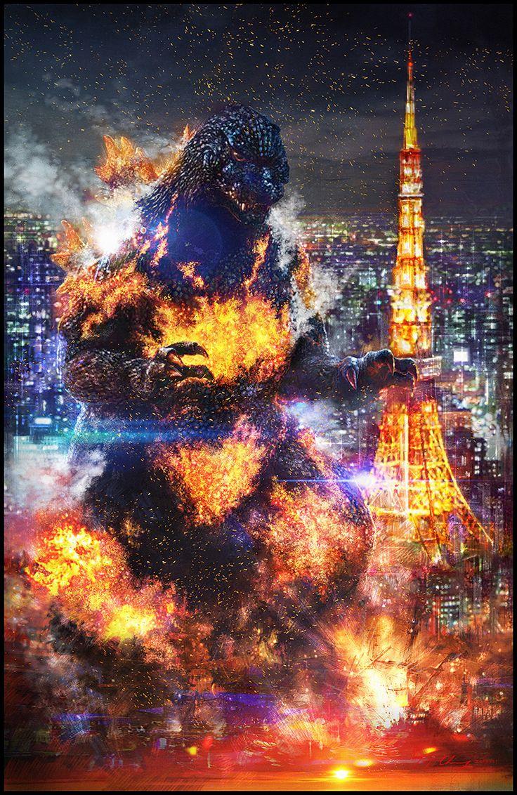 xombiedirge:  Godzilla 1996byCheung Chung Tat