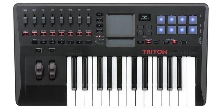 Korg TRITON taktile-25 USB Controller Keyboard - $137.99