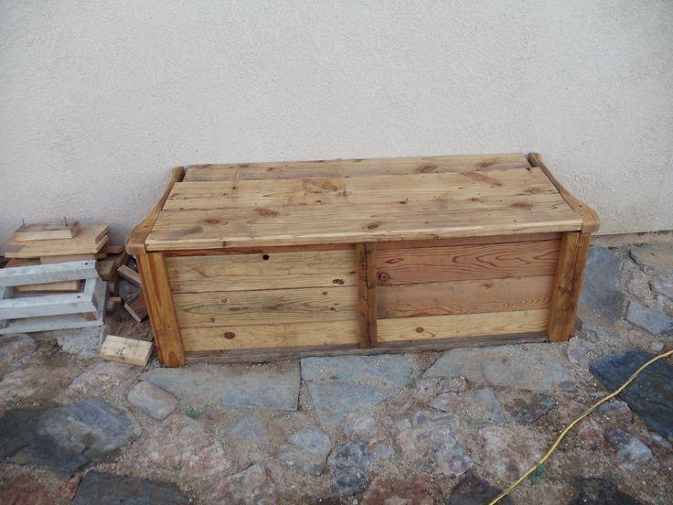 Bench to cover my sprinkler valves