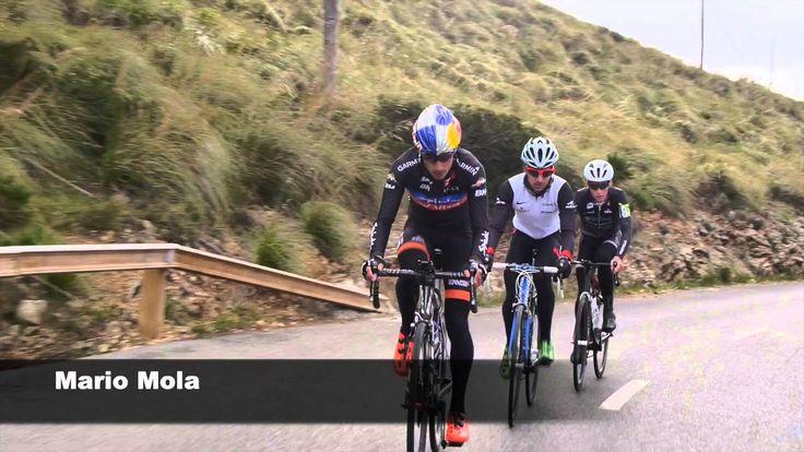 Mario Mola y Richar Murray nos enseñan como hacer cuestas en bicicleta