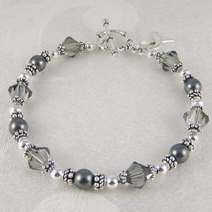 Parkinson's Awareness Bracelet - dedicated to my father-in-law who has had it for 26 years. $75