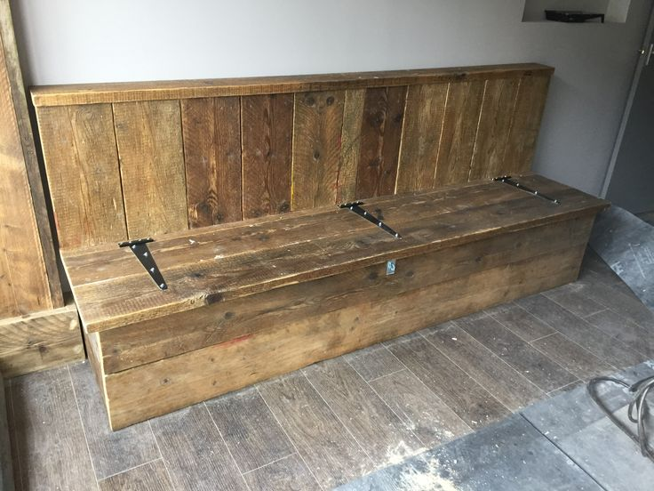 Start of a new coffee shop refurb in Highcliffe, Dorset. Two of these benches, a smaller picnic bench, and 11 tables to go in