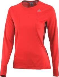Zomercollectie 2013: Adidas shirt lange mouw RSP crew rood/zwart dames bij Hardloopaanbiedingen.nl. #Adidas #hardloopshirt #hardloopaanbiedingen