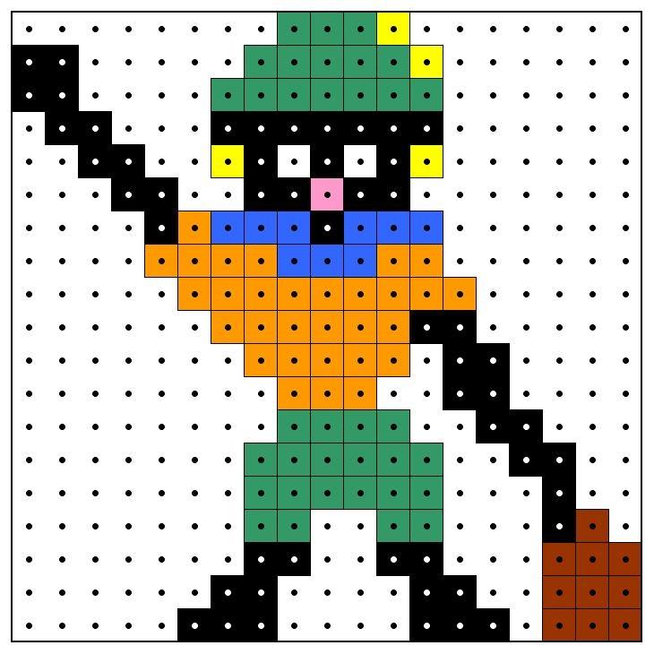 KleuterDigitaal - wb kralenplank zwarte piet 04