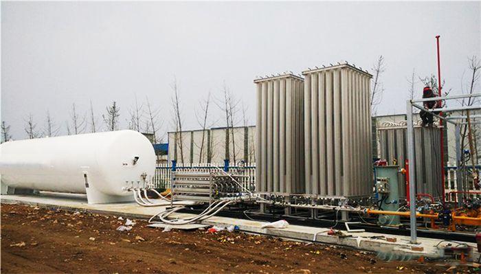 Practical Application Scenario Of Liquid Nitrogen Low Temperature Storage Tank Storage Tank Liquid Nitrogen Henan