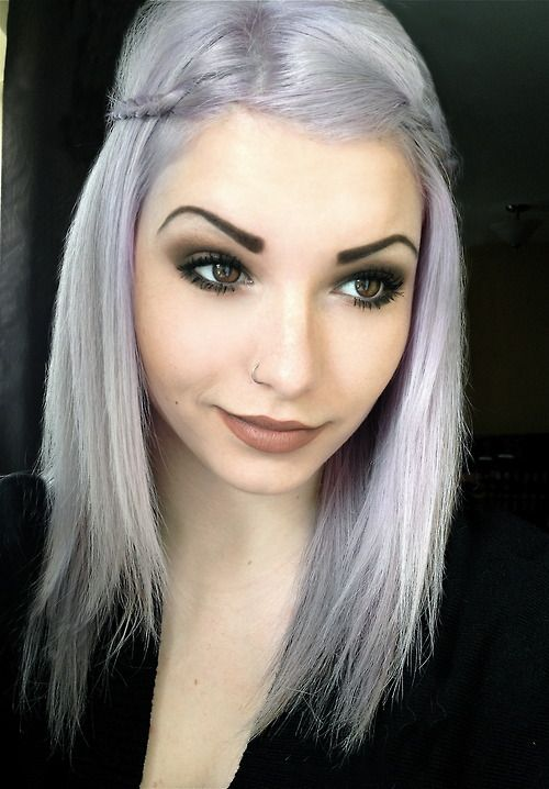 Best 25 Lilac Grey Hair Ideas On Pinterest Silver
